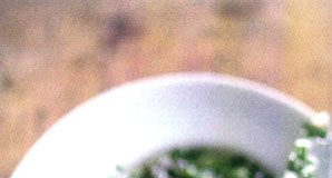 Acciughe in Salsa Verde