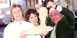 All Celebrity Chefs at Antonio Carluccio's Funeral