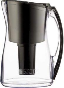 "Brita Marina Water Filter Pitcher, Black, 8 Cup"""